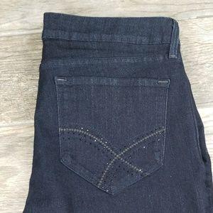 NYDJ marilyn straight cut  stretch  size 16